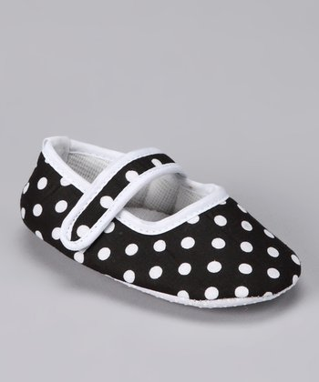 Black Polka Dot Booties