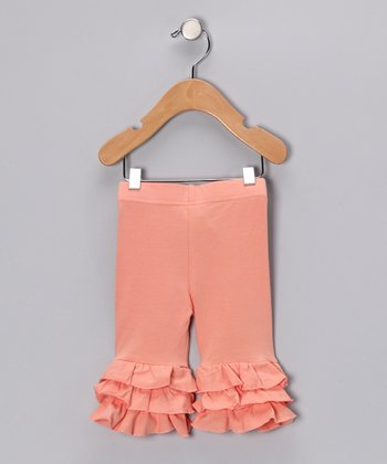 Peachy Keen Tiered Ruffle Pants - Infant