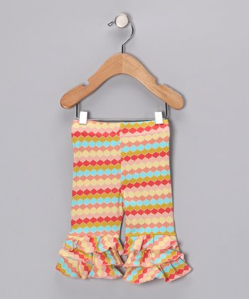 Rainbow Sherbert Tiered Ruffle Pants - Infant & Girls