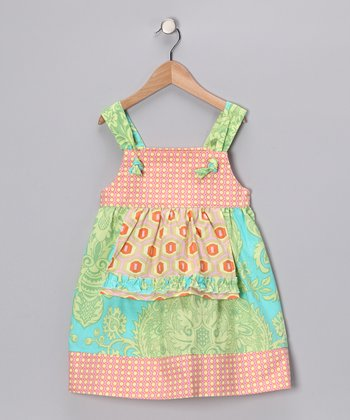 Candy Coated Taffy Apron Dress - Infant, Toddler & Girls
