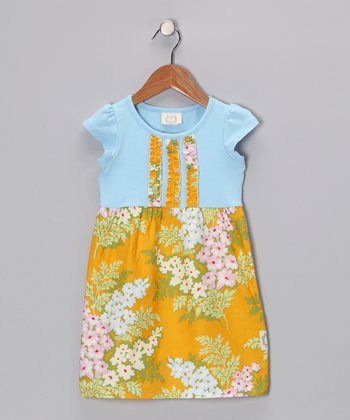 Tangerine Twist Mya's Dress - Infant, Toddler & Girls