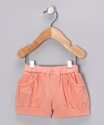 Peachy Keen Bubble Shorts - Infant & Girls