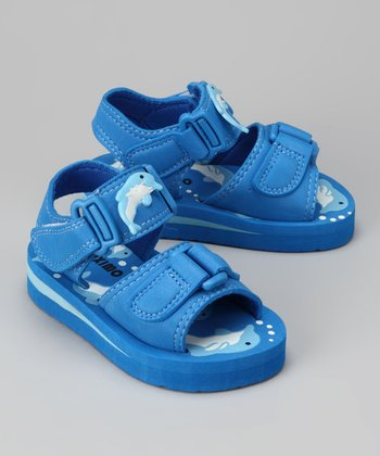 Royal Blue Dolphin Sandal