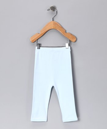 Blue Gamuza Pants