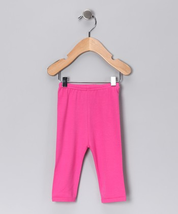 Hot Pink Gamuza Pants - Infant