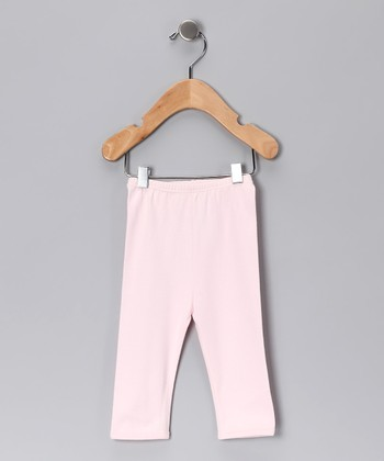 Sweet Cottons Pink Gamuza Pants - Infant