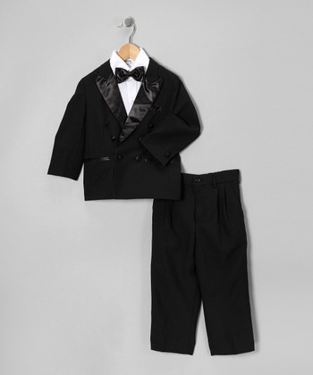 Sweet Kids Black Tuxedo Set - Infant, Toddler & Boys