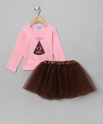 Sweet Petunia Pink '2' Tee & Tutu - Infant, Toddler & Girls