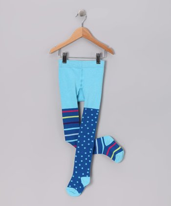Blue La Paz Tights - Infant & Toddler