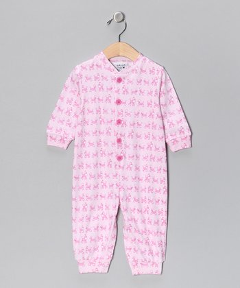 Pink Poodle Playsuit - Infant