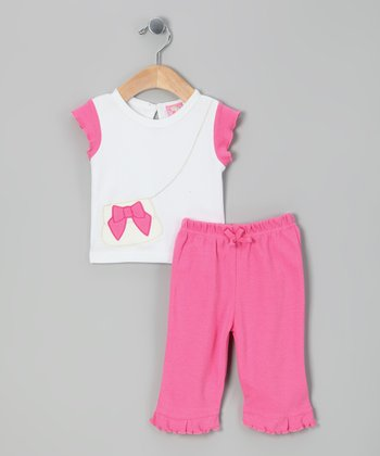 Pink Purse Tee & Pants - Infant