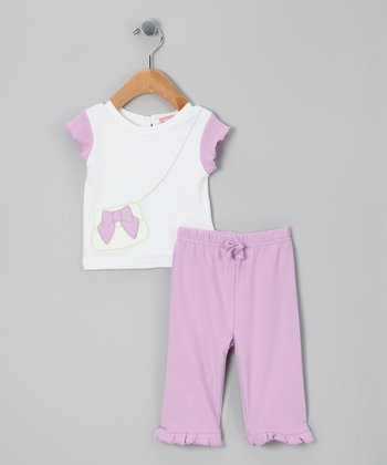 Purple Purse Tee & Pants - Infant