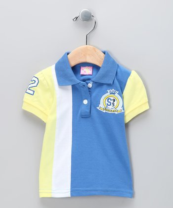 Blue 'Champion' Polo