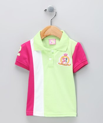 Lime 'Champion' Polo