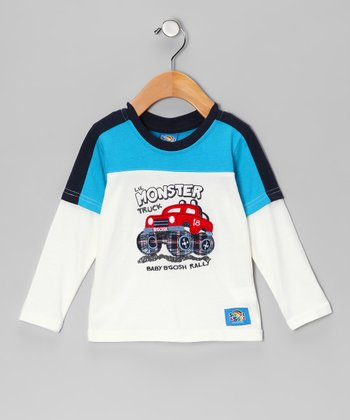 Blue 'Monster Truck' Tee