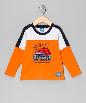 Orange 'Monster Truck' Tee