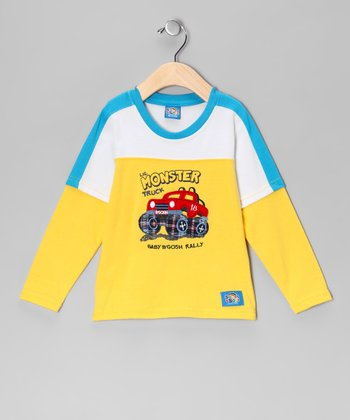 Yellow 'Monster Truck' Tee
