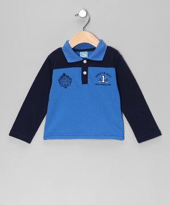 Blue 'Golf World Cup' Polo - Infant