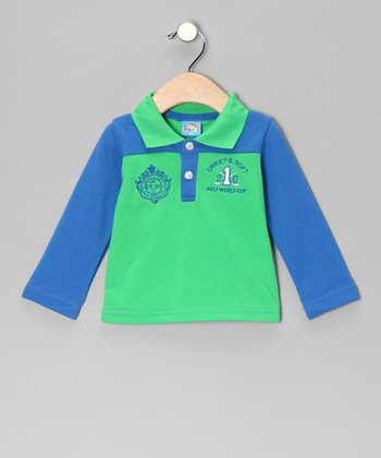 Green 'Golf World Cup' Polo - Infant