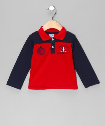 Red 'Golf World Cup' Polo - Infant