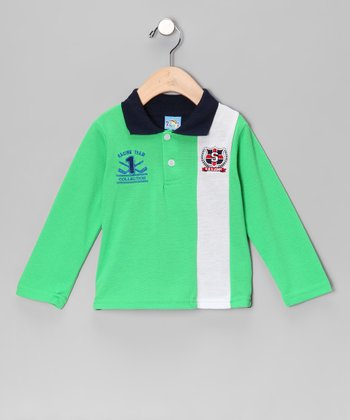 Green 'Racing Team Collection' Polo