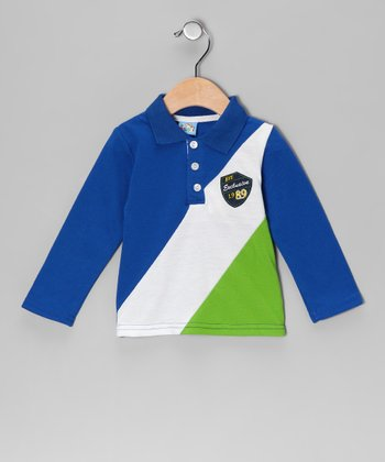 Blue 'Exclusive' Polo - Infant