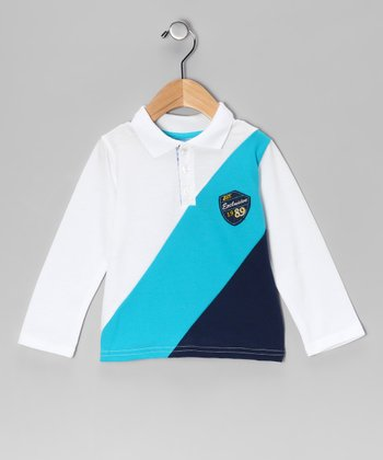 White 'Exclusive' Polo - Infant