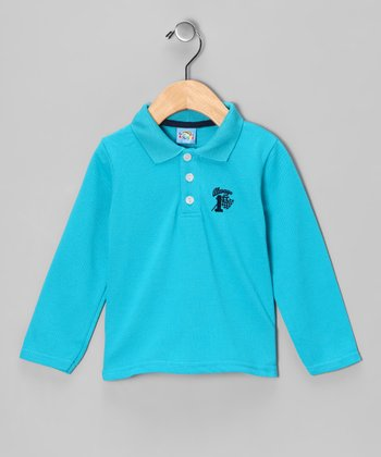 Blue '1st' Polo - Infant