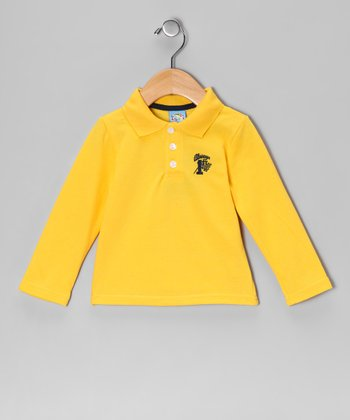 Yellow '1st' Polo - Infant