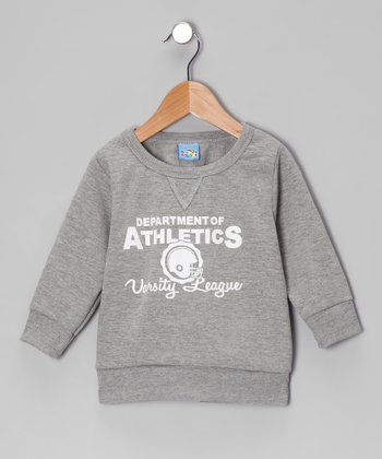 Gray 'Department of Athletics' Sweatshirt - Infant