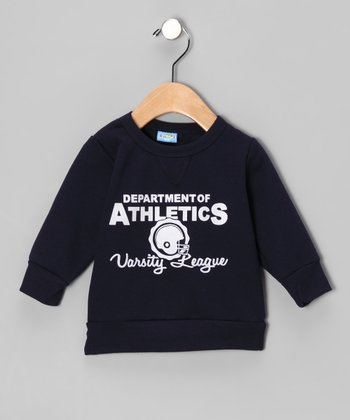 Navy 'Department of Athletics' Sweatshirt - Infant