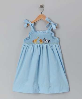 Blue Zoo Smocked Dress - Girls