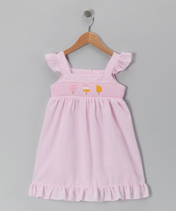 Pink Popsicle Smocked Dress - Infant, Toddler & Girls