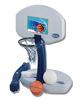 Swimways Pool Basketball & Volleyball Set