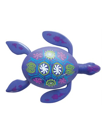 Purple Rainbow Reef Turtle Pool Toy