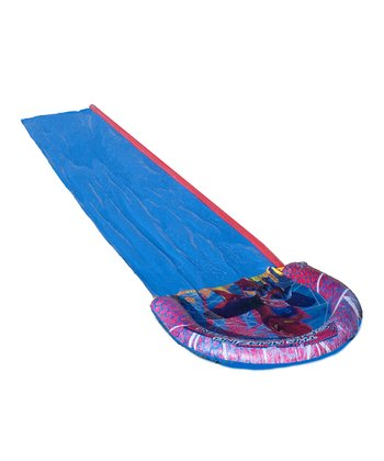 Blue Spider-Man Water Slide