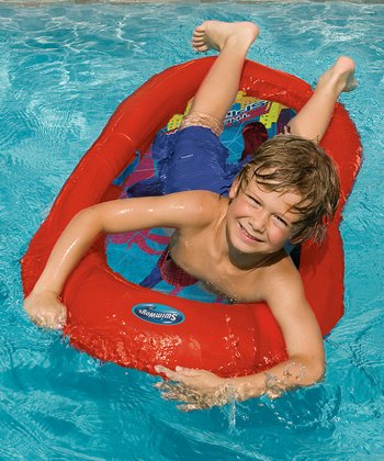 Red Spider-Man Spring Float Kid's Boat