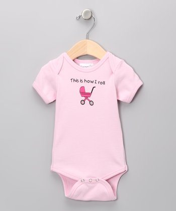 Pink 'This Is How I Roll' Bodysuit - Infant