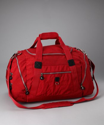 Red Sport Duffel Bag