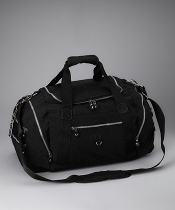 Black Sport Duffel Bag