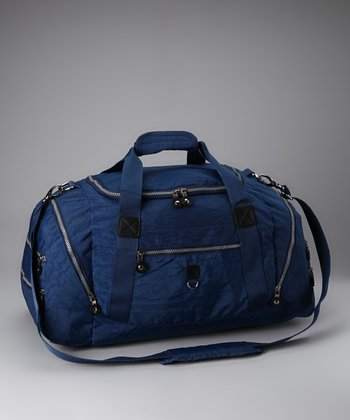 Blue Sport Duffel Bag