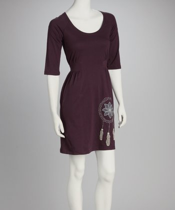 Synergy Plum Dream Catcher Market Organic Dress