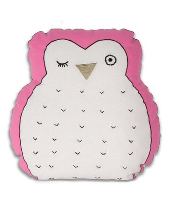 Hoot Owl Throw Pillow