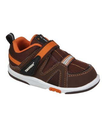 Brown & Orange Maru Sneaker