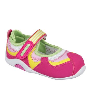 Fuchsia & Lime Baby Arisa Mary Jane