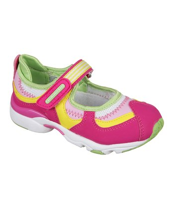 Fuchsia & Lime Arisa Mary Jane
