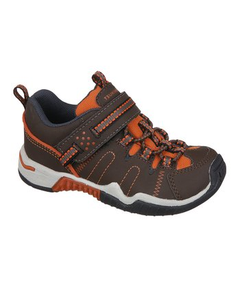 Brown & Orange Fuji Sneaker