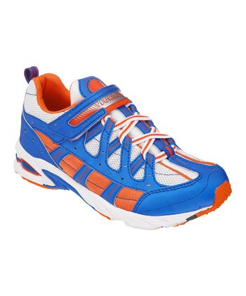 Orange & Royal Speed Sneaker
