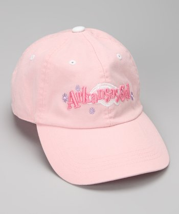 Arkansas Razorbacks Pink Baseball Cap - Kids