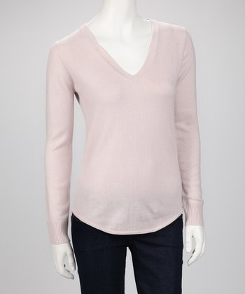 Shoreline Cashmere V-Neck Sweater